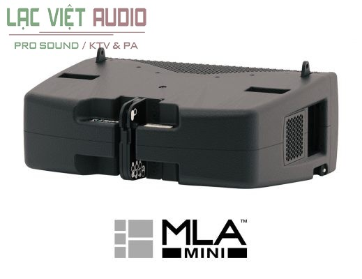 Mặt sau loa array Martin MLA Mini